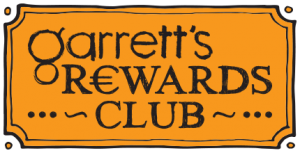 GARRETTS REWARDS CLUB
