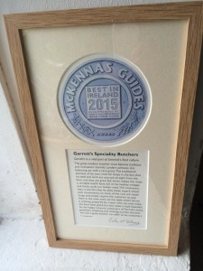 Garrett's 2015 Award Citation