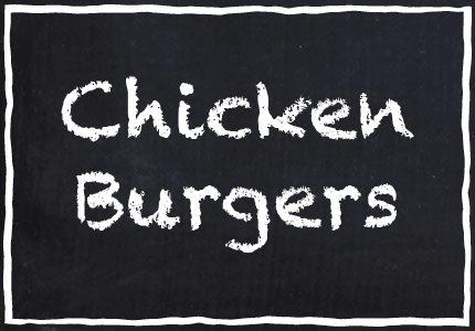 Garretts Chicken Burgers