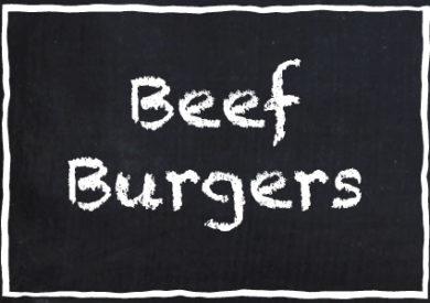 Garretts Beef Burgers