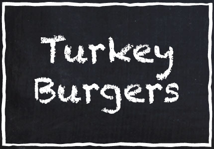 Garretts Turkey Burgers