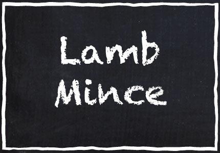 Garretts Lamb Mince