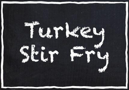 Garretts Turkey Stir Fry