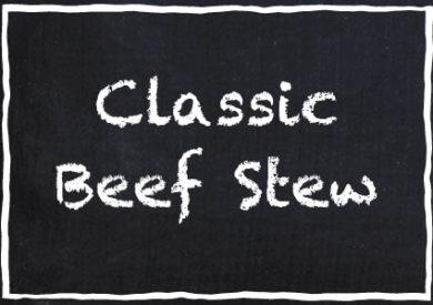 Garretts Classic Beef Stew HotPot