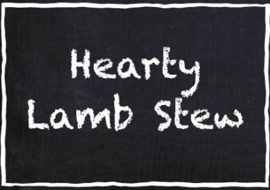 Garrett's Hearty Lamb Stew HotPot